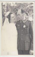 (F1046+) Orig. Foto Wehrmacht-Soldat, Hochzeit, 1940er