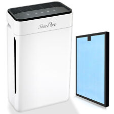 Large Room Air Purifier HEPA Home Living Room Air Cleaner for 99.97% Allergies