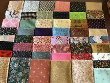 lot of 50 fat Quarter cotton Fabric
