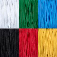 Gummiband Gummischnur für Masken, 2mm, rund, bis 50m, versch.Farben, PS1R2