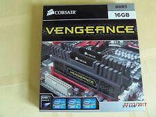 Corsair Vengeance 16GB(2x8GB) DDR3 1600Mhz Desktop Memory Kit CMZ16GX3M2A1600C10
