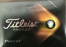 3 DZ NEW 2021 Titleist Pro V1 Golf Balls