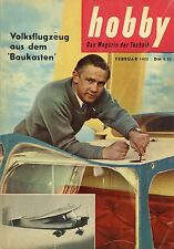 Zeitschrift hobby 2 55 1955 Convair 340 Silberpfeil Taunus 15 M HE 111 Reyonnah