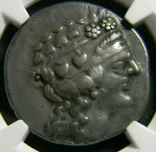 Thrace, Thasos tetradrachm Ancient Greek Coin Ngc 5,s 4,s Toned