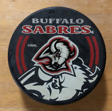 Vintage Buffalo Sabres Hockey Puck Goathead Logo Vegum Slovakia In Glas Co