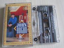 JOHN HOGAN 'THE NASHVILLE ALBUM' CASSETTE, 1993 RITZ RECORDS, RARE, TESTED.
