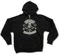 Slayer Vintage 1981 Black Zip Hoodie Sweatshirt New Official Band