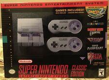 Super Nintendo Entertainment System (SNES) Classic - mod w/ 260+ Games - New!