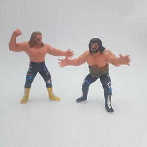 Michael Hayes & Jimmy Garvin Fabulous Freebirds WCW Wrestler Action Figures (...