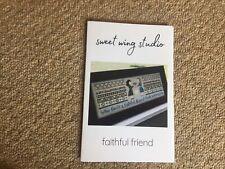 Faithful Friend Cross Stitch Chart By Sweet Wing Studio