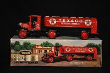 1920 Texaco Pierce Arrow Cab With Tanker - Die Cast Bank - #16 in Series - NIB