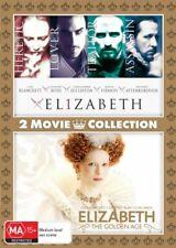 Elizabeth / Elizabeth The Golden Age 2 Movie Collection DVD Region 4 Australia