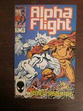Alpha Flight #23 - Snowbird versus Sasquatch - John Byrne story and art