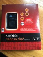 SanDisk Sansa Clip+ 8 GB MP3 Player Black Discontinued by Manufacturer