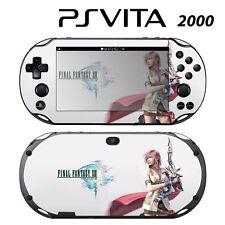 Vinyl Decal Skin Sticker for Sony PS Vita Slim 2000 FF Lightning 3