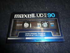CASSETTA VERGINE MAXELL UD I 90 - MUSICASSETTA AUDIO SIGILLATO SEALED -A10- FL