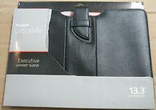 "Brand new Targus Ultralife Executive Leather 13.3"" Ultrabook Sleeve"