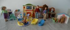 Fisher Price LOVING FAMILY dollhouse musical furniture, people, nursery, dogs