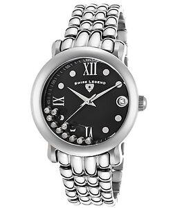 Swiss Legend Women's Diamond Quartz Watch Silver Stainless Steel 22388-11