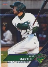 2017 Beloit Snappers Mike Martin RC Rookie Oakland Athletics