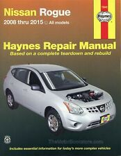 Nissan Rogue Repair Manual: 2008-2015