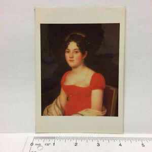 Postcard John Vanderlyn Mary Scott Swann Portrait 1815 Art Print