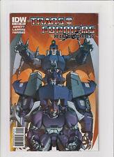Transformers Heart Of Darkness #1 Vf- 7.5 IDW Fumetti 2011 Decepticons, Megatron