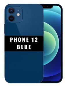 "[Factice] Apple iPhone 12 - 6,1"" - Bleu - Réplique Téléphone Smartphone Factice"