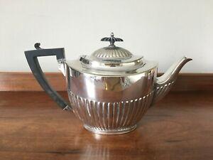 Antique Georgian Style Elkington & Co Silver Plated Teapot