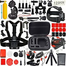 31-in-1 Accessories Kit Essential GoPro Hero 5/4/3/2/1 Session Hero Bundle Black