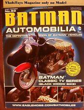 Eaglemoss Automobilia Magazine Only Batman Classic TV Series Black Widow Bike 83