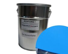 3 Liter Water Based Spray-Ready Jaguar Jyg French Racing Blue Car Paint Tuning