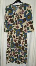 Boden - Long Sleeved Floral Dress - Size 12