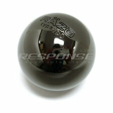 Razo RA112 Shift Knob Black Chrome Aluminum Type 100 Weighted Round / Ball JDM
