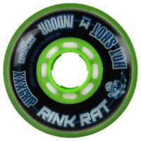 RINK RAT Single Wheel Hot Shot Black/Green 80mm 76a Inline Indoor Hockey