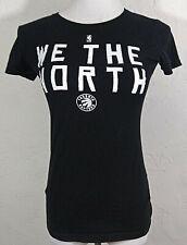 Toronto Raptors Juniors Top Small We The North Black Shirt Alstyle Short Sleeve