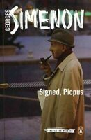 Signed, Picpus, Paperback by Simenon, Georges; Coward, David (TRN), Like New ...