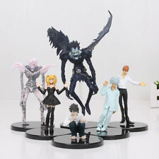 Set 6 statuette Anime  Death Note L Killer Ryuuku Misa Amane Rem  PVC Nuovo