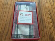 Pottery Barn Kids Christmas Tree Holiday Classic Plaid Fabric Tree Garland New