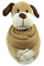 Plüsch Hund mit Kuscheldecke  Kuscheltier (22*10cm & 95*75 cm) doggo  (A-0822)
