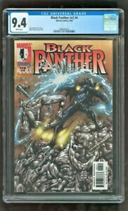 CGC 9.4 BLACK PANTHER #V2 #4 MARVEL COMICS 2/1999 1ST APPEARANCE OF WHITE WOLF