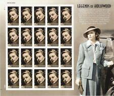 Ingrid Bergman Celebrity Sheet of 20 Forever Stamps Scott 5012
