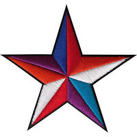 Star Patch Embroidered Badge Iron Sew On Jacket Jeans Shirt Embroidery Applique