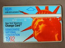 Kaart MINT Ongebruikt USA - Nynex / Democratic National Convention 1992