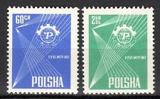 Poland - 1957 Fair Poznan - Mi. 1018-19 MNH