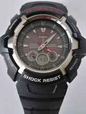 Rare CASIO G-Shock GW-1500A (3366) Tough Solar Stainless Steel Watch, Working