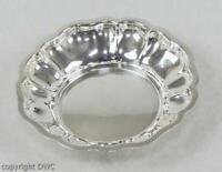 Anbietschale Silberschale Schale  aus 830 Silber Antik Antike Halbmond Krone !