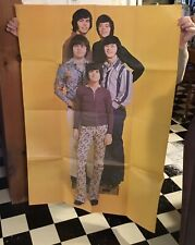 Vintage Early 1970's Osmond Brothers Poster -46 1/2�