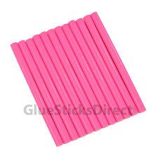 "GlueSticksDirect Neon Pink Glue Stick mini X 4"" 12 sticks"