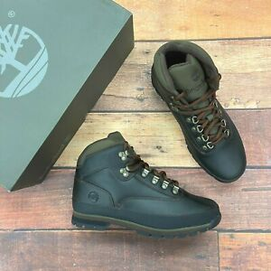 Timberland Men's Euro Hiker Brown Leather Hiking Boots
